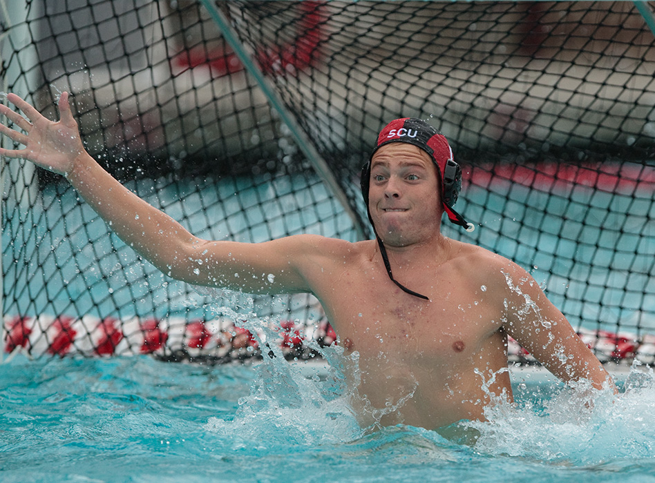 Water Polo's Nash Making the Most of Working in Santa Clara Athletic Media Relations Office