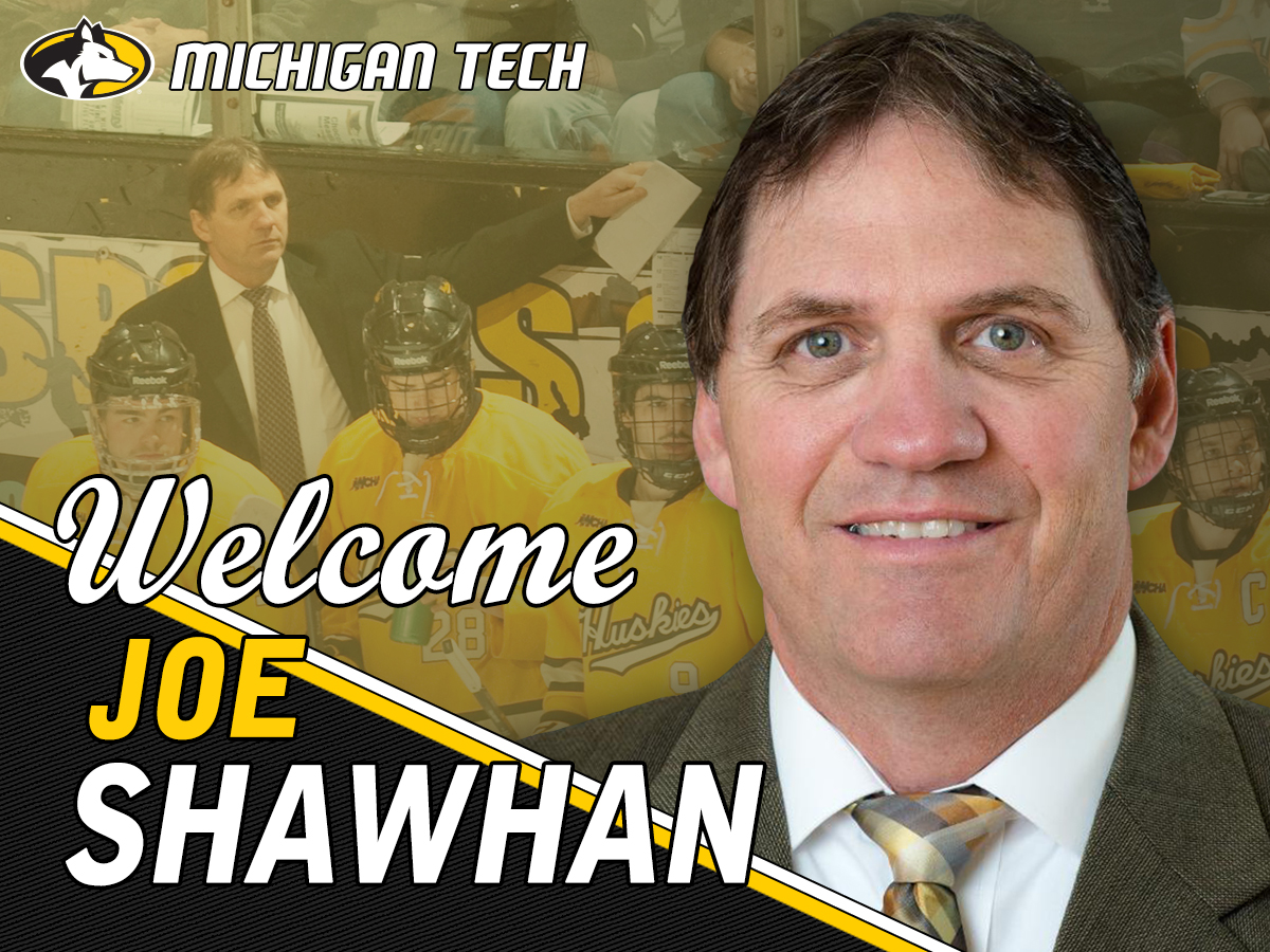 WCHA: Joe Shawhan Named Head Hockey Coach At Michigan Tech