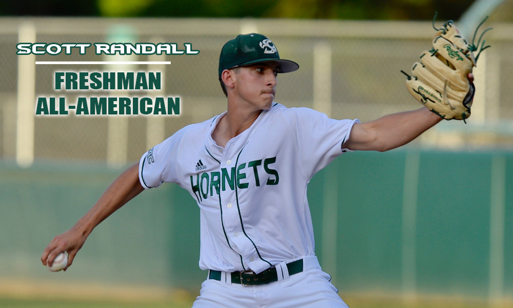 SCOTT RANDALL NAMED COLLEGIATE BASEBALL FRESHMAN ALL-AMERICAN
