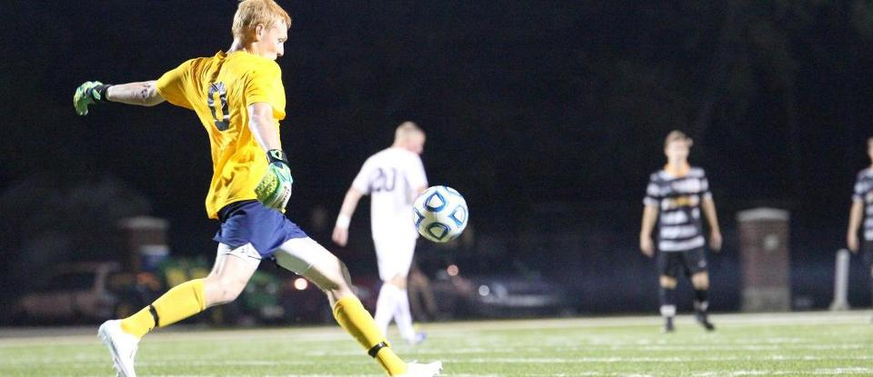 Men's Soccer Nets First Win over Ranked Opponent