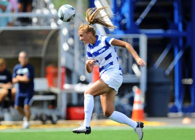 Women's Soccer Drops Bryant Match, 2-1