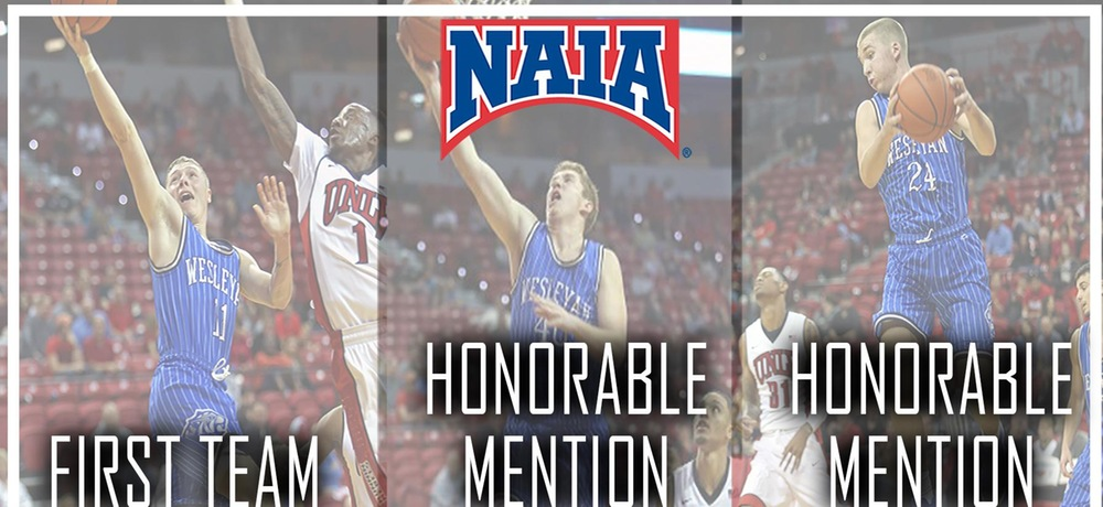 Martin named NAIA All-American, Spicer and Hoglund earn Honorable Mention