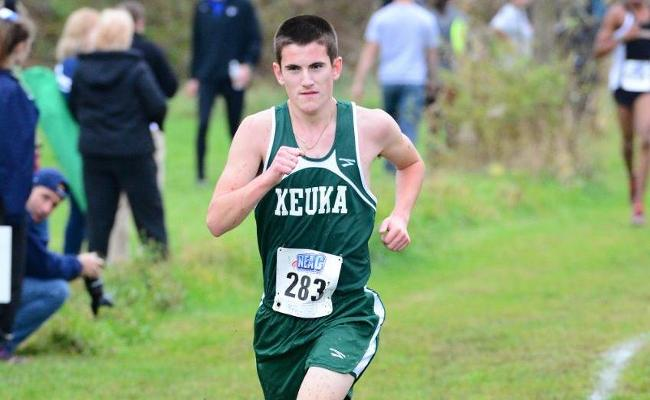 Sophomore Josh Langley and the Keuka College men's cross country team placed 13th during Saturday's season-opening Oswego State Invitational.