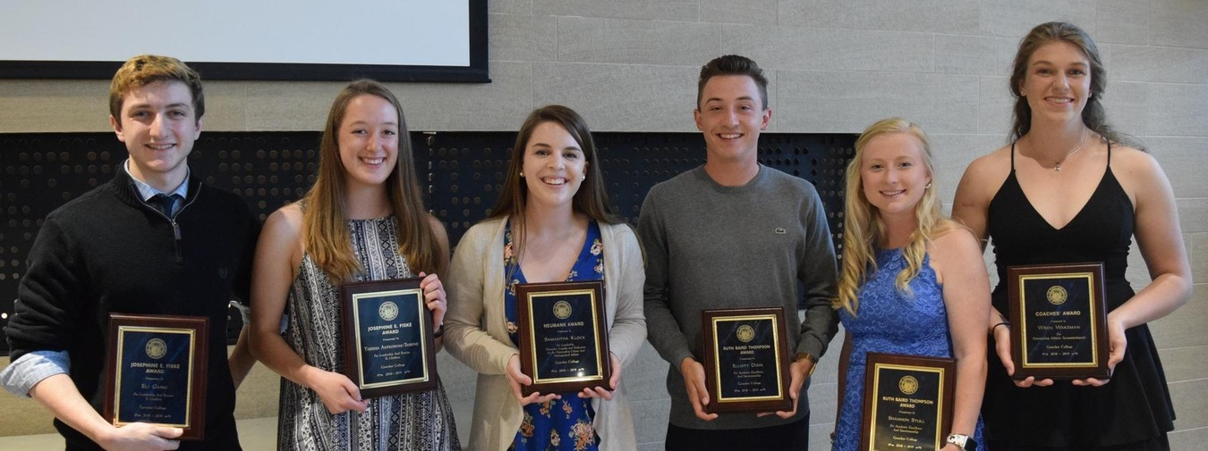 Goucher College Departmental Awards Announced