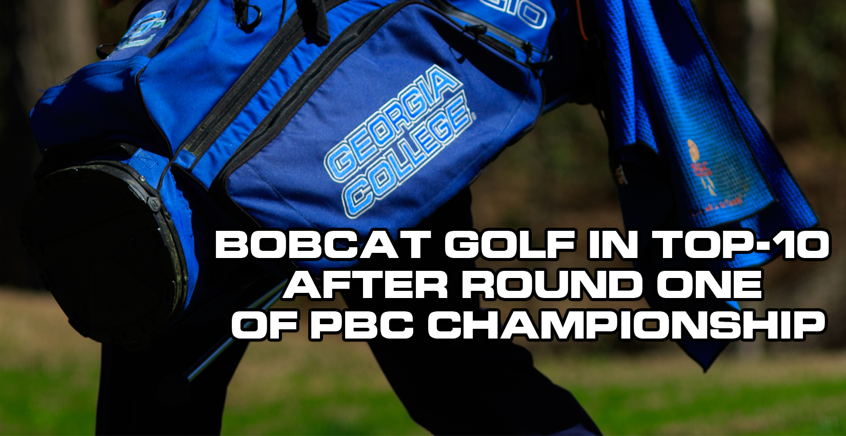 Bobcat Golf in Top-10 after Round One of PBC Championship