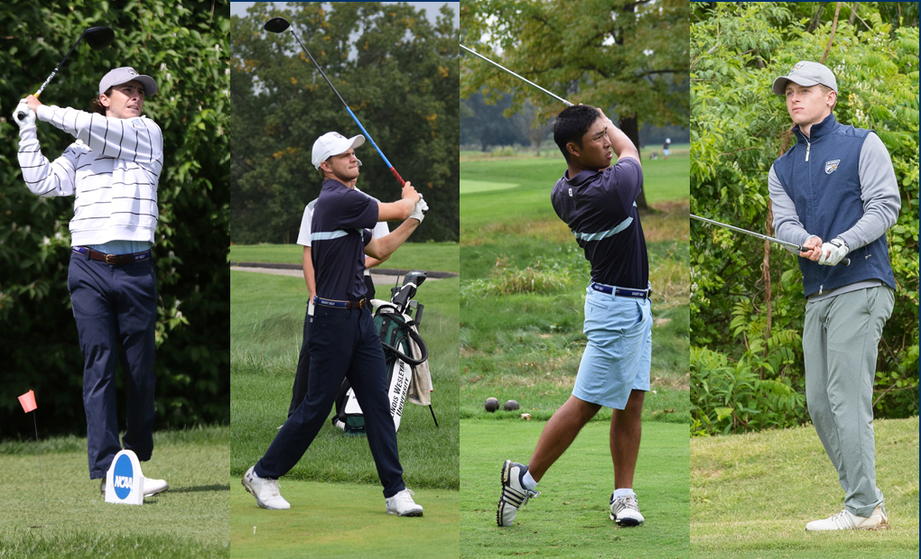 Four Eagles Earn Golf All-America Honors