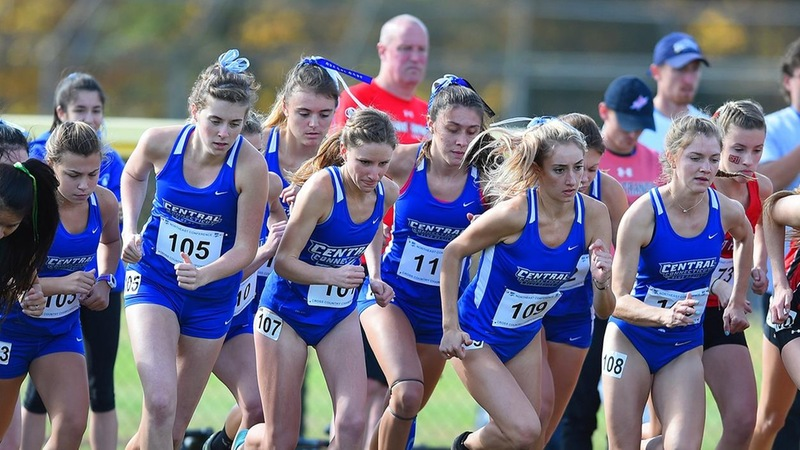 Women's Cross Country Runs at ECAC/IC4A Championships