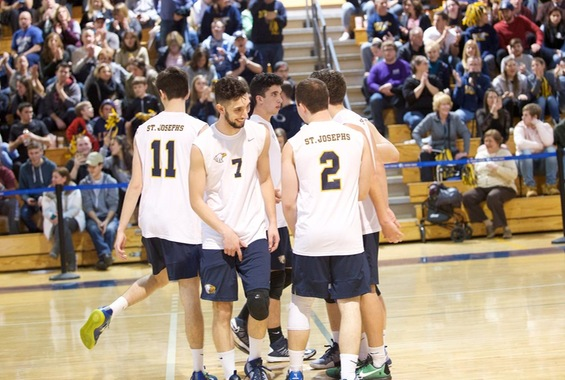 Men's Volleyball Earns Wins Over Rutgers-Newark, Alvernia on Friday Night