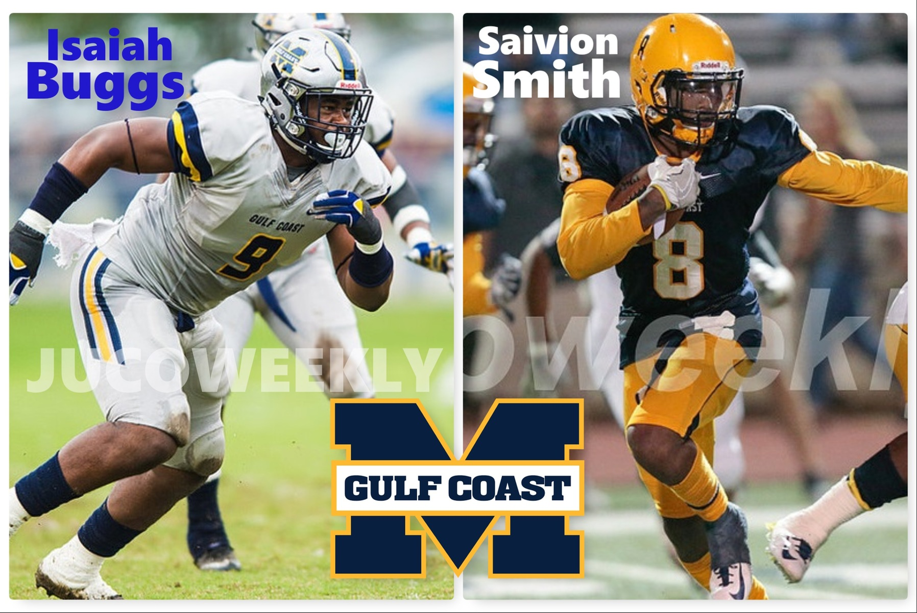 2 former MS Gulf Coast Bulldogs likely to be drafted