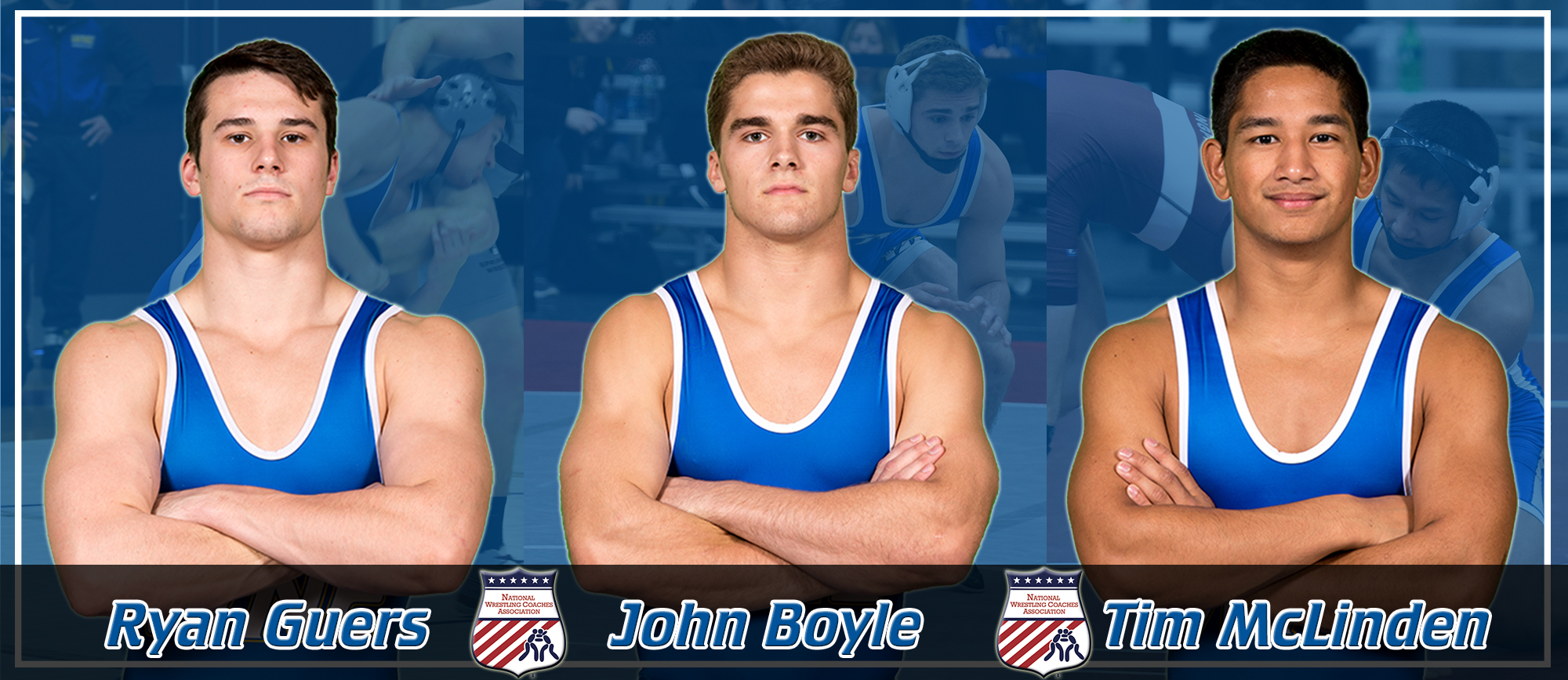 Boyle, Guers & McLinden Named to NWCA All-Academic Team