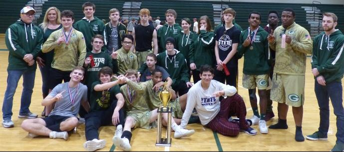 Ware Wrestling Team Wins Region 2AAAAA Traditional Tournament for 3rd Straight Year