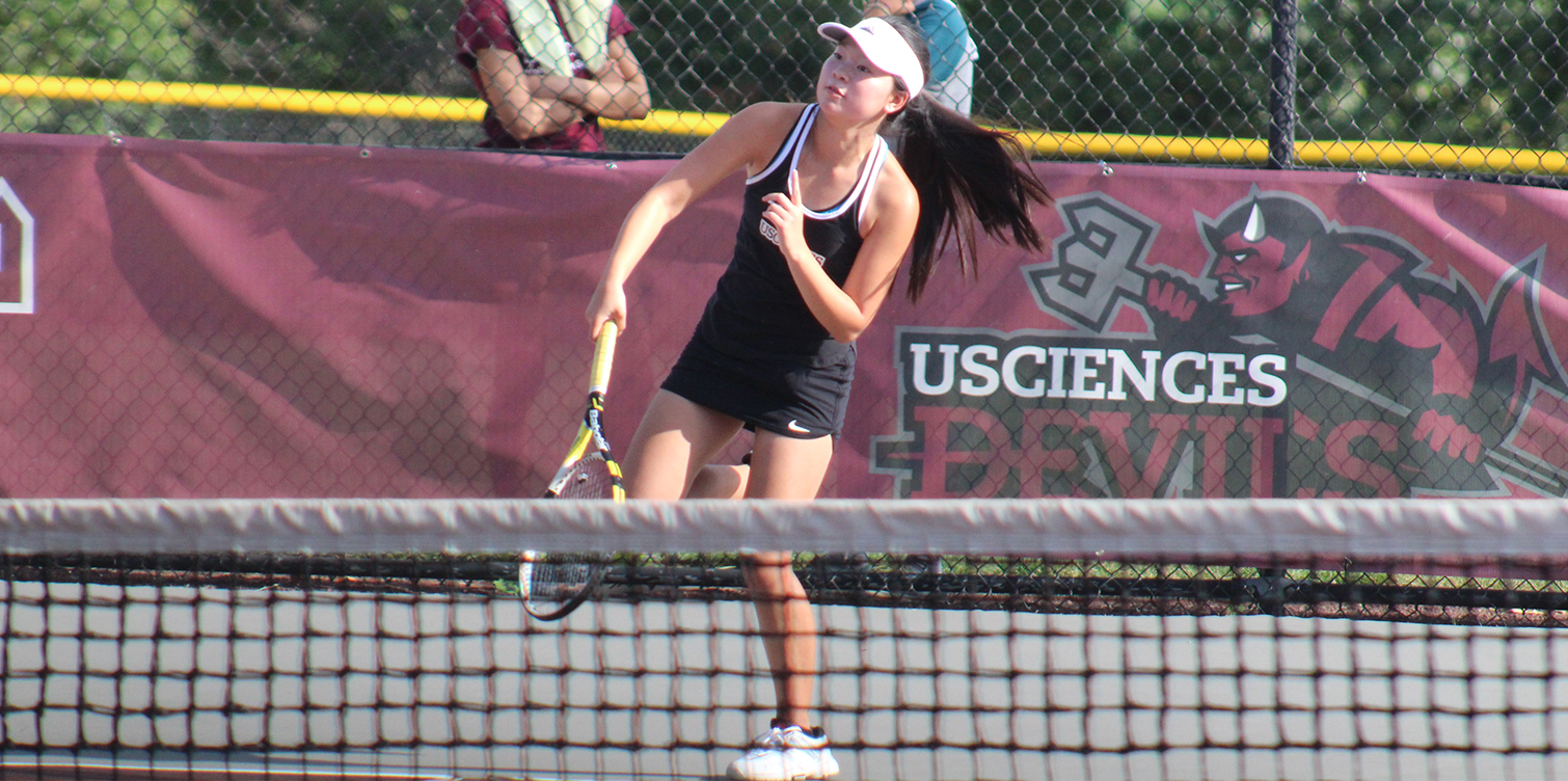 Women's Tennis Sweeps Holy Family for First CACC Victory of Season