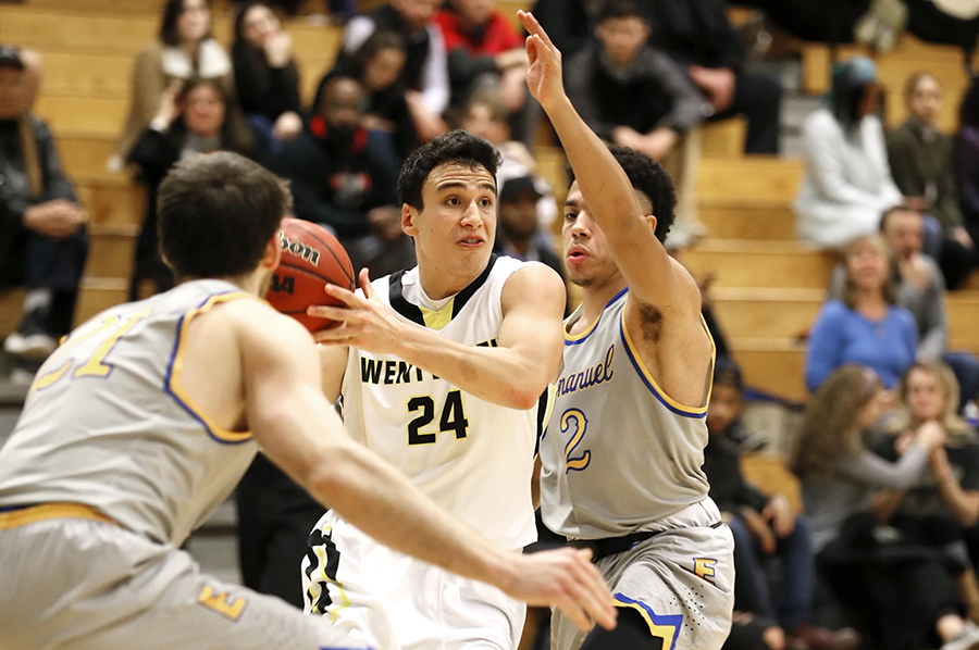Comeback Bid Falls Just Short in Men's Basketball's Loss to Roger Williams