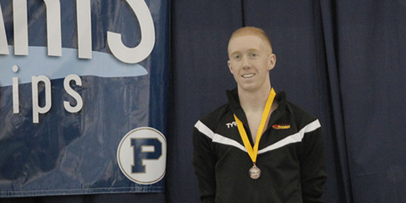 Simpson turns in record-setting performance at Liberal Arts Championships