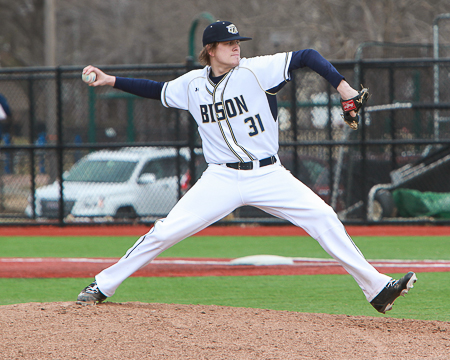 Gallaudet's Brandon Holsworth named ECAC Division III South Co-Pitcher of the Week