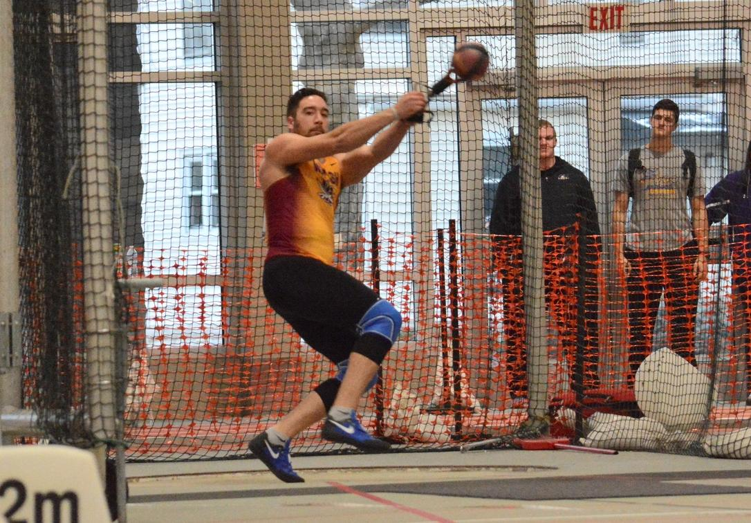Throws Impressive For Men at Mount Union