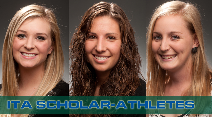Three Bobcats, Women's Tennis Honored by ITA
