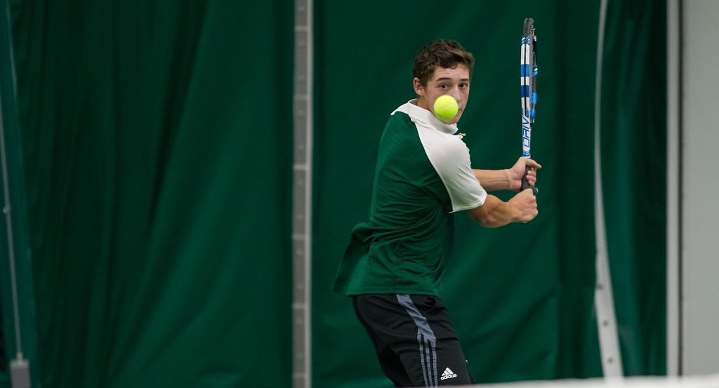 Men's Tennis Picks Up 5-2 Victory At Duquesne