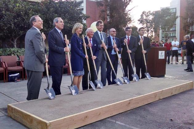 Roberts Pavilion Groundbreaking Ceremony photos and video (2/11/14)