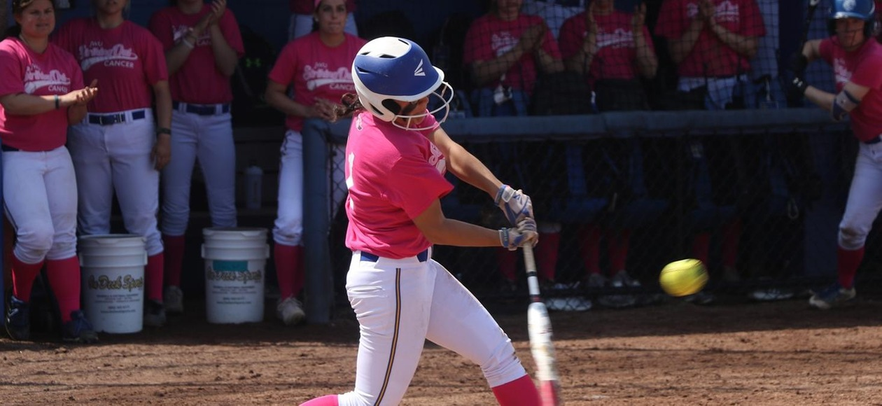JWU Softball Breaks Out the Bats to Sweep AMCATS