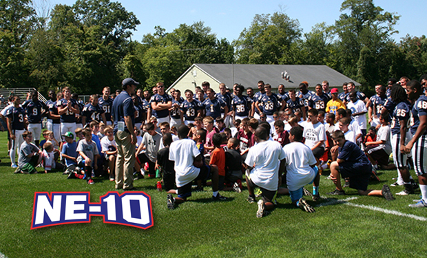 Large Turnout for DJ Henry Memorial Youth Football Clinic at Pace
