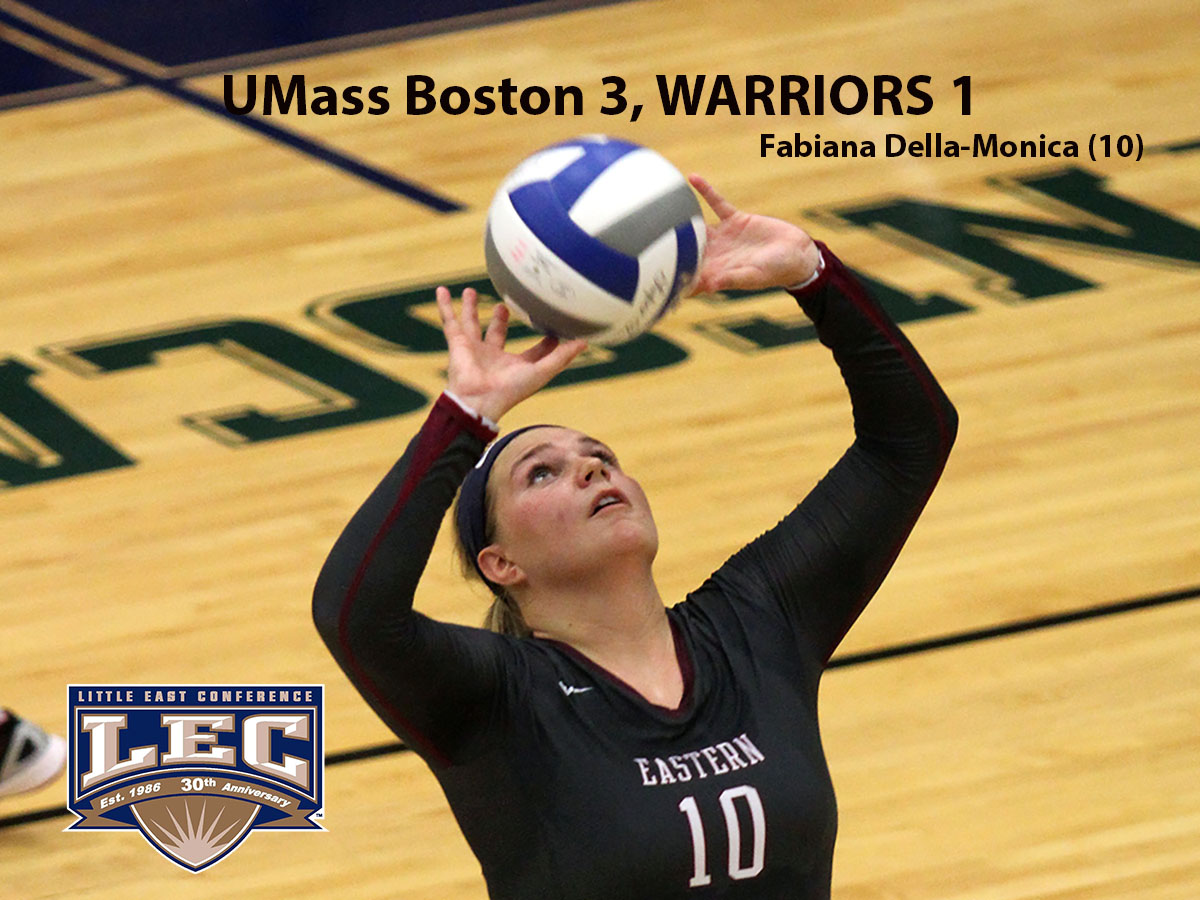 Women's Volleyball: Warriors Foiled in Bid For Second Straight Upset of UMass Boston