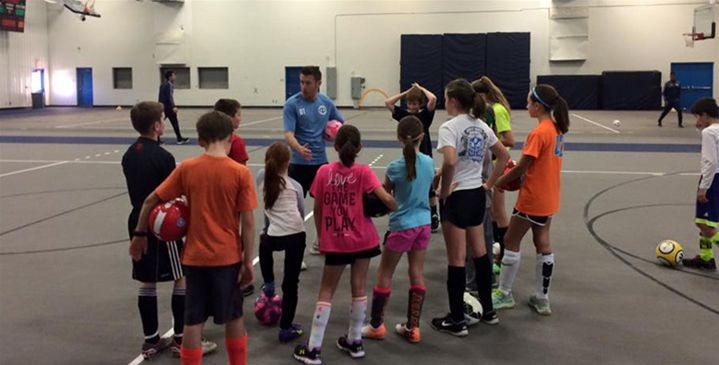 Iowa Central Soccer Hosts Winter Camp