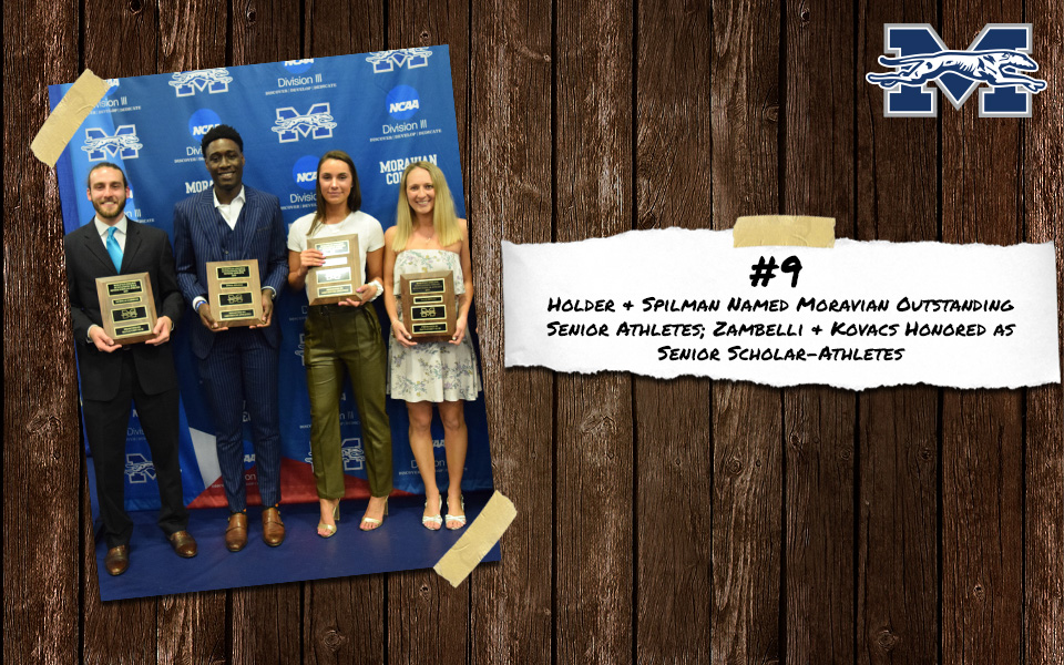 Top 10 Stories of 2018-19 - #9 Oneil Holder, Kat Spilman, Paige Kovacs and Nick Zambelli Receive Annual Senior Awards.