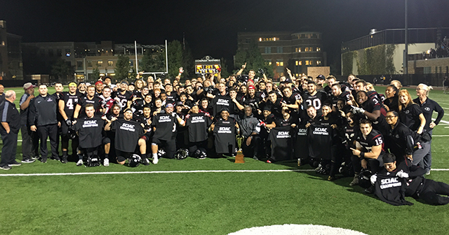 Chapman Clinches 2017 SCIAC Football Championship