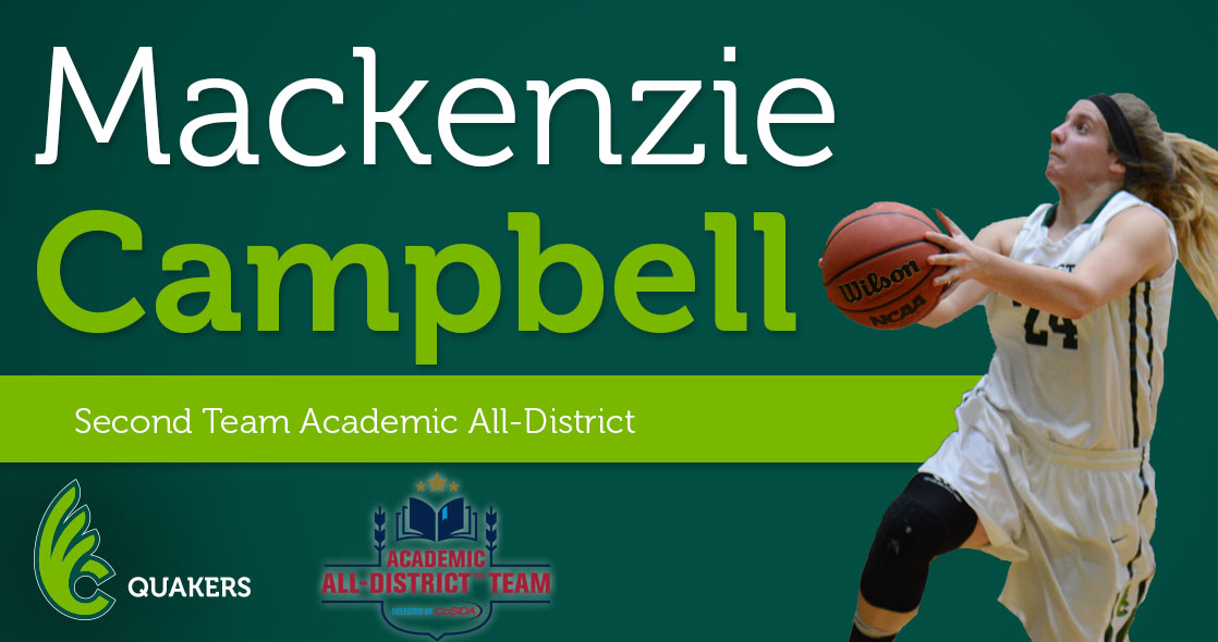 Campbell Garners Academic All-District Honors