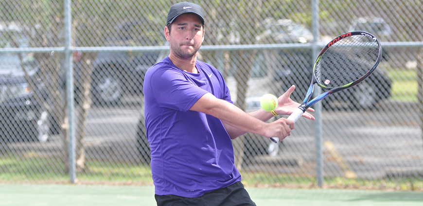 Men's Tennis Team Clinches No. 2 Seed In Playoffs