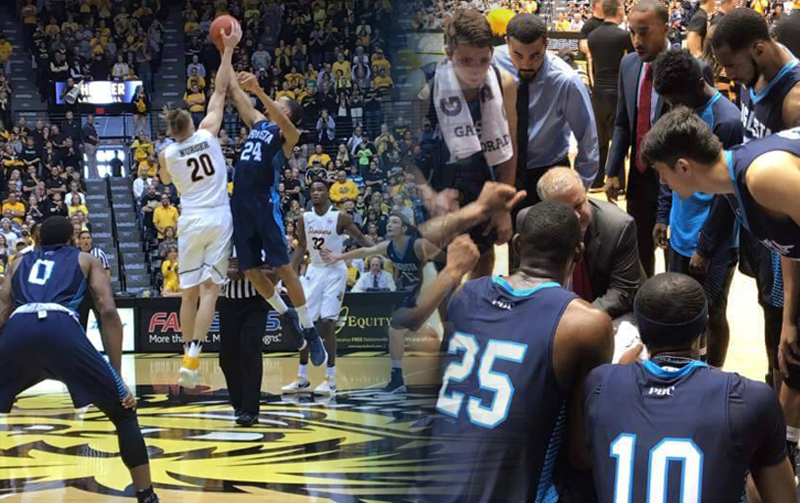 Augusta Tests Wichita State In 73-67 Exhibition Game Loss