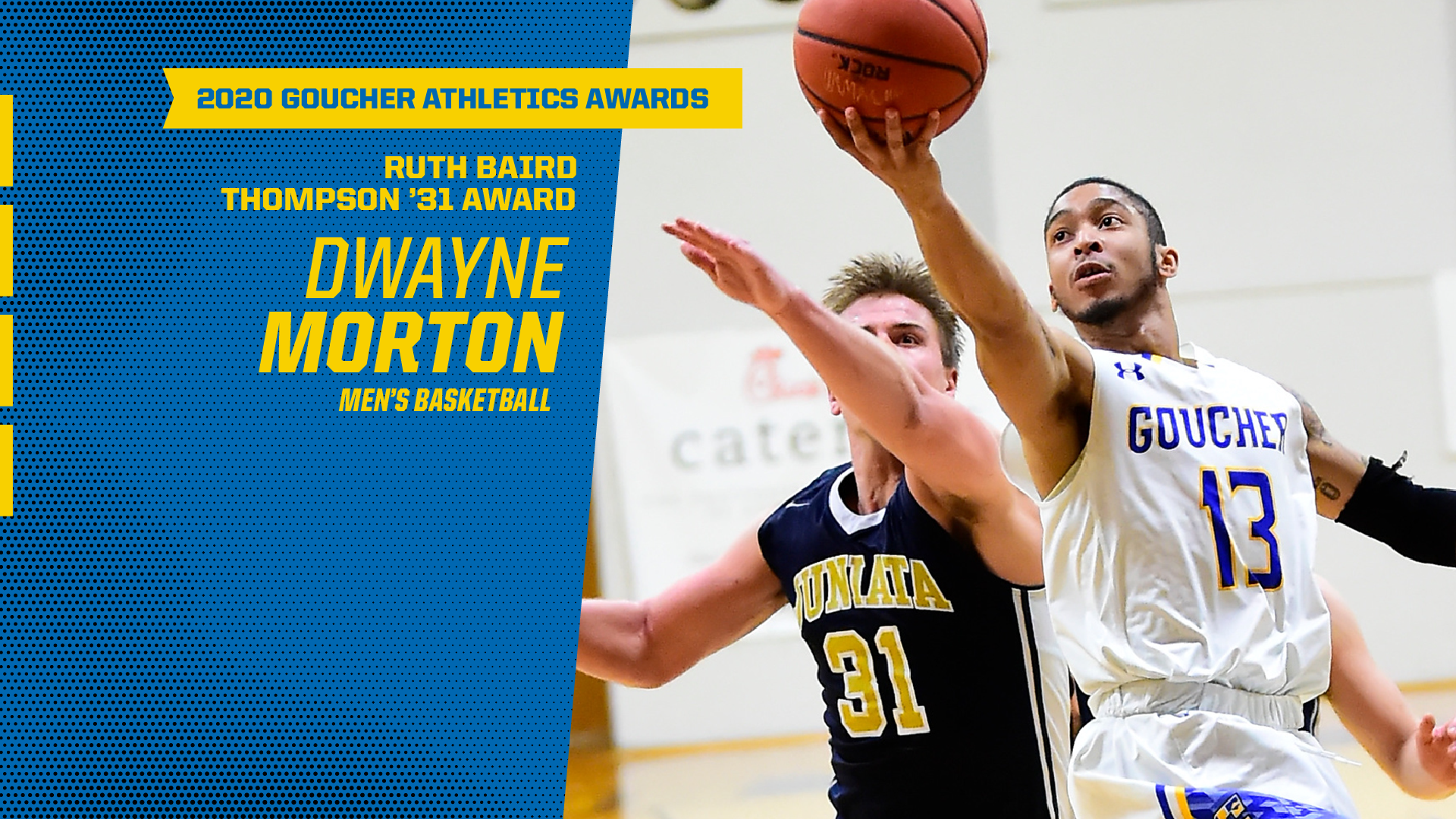Goucher Athletics Announces Ruth Baird Thompson '31 Male Award Winner
