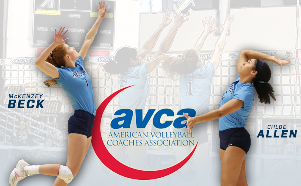 Beck & Allen Honored With AVCA All-Region Awards