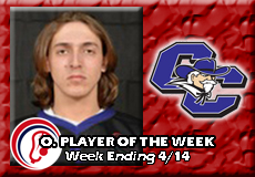 Devin Newell-Curry, Men's Lacrosse: Offensive Player of the Week