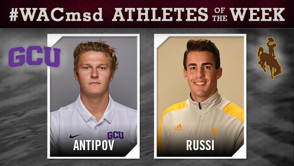 WAC Men's Swimming and Diving Athletes of the Week Announced