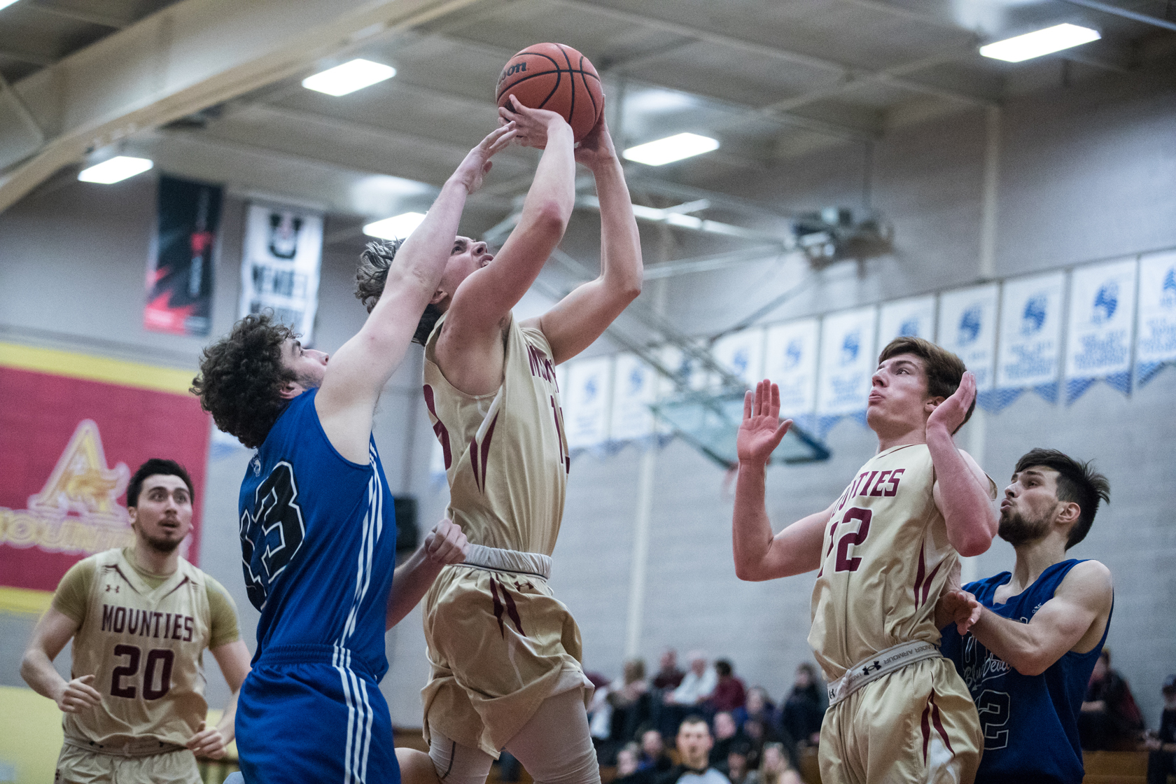 Blue Devils routed by Mounties