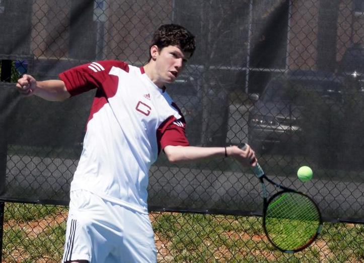 Ben Nelson Named ODAC Tennis Player of the Week