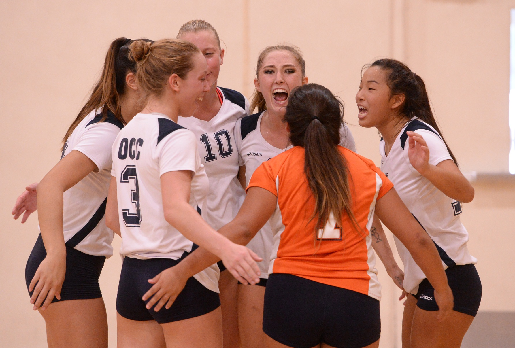 Pirates advance to next round with four-set win over Mounties