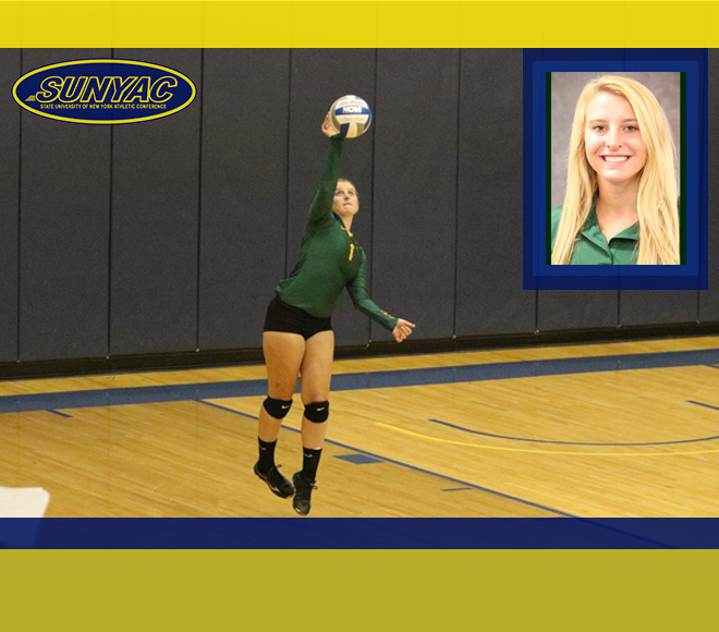 Brockport's Poloncarz named SUNYAC Volleyball Athlete of the Week