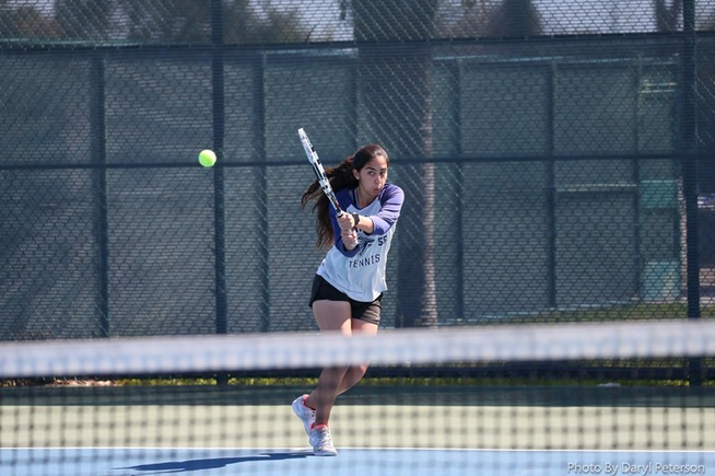 Alba Gonzalez and the Falcons fell to Saddleback