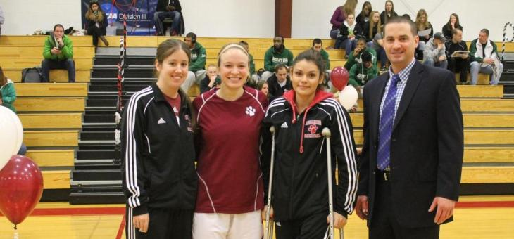 AMCATS Celebrate Senior Day, Top Mount Ida 76-71