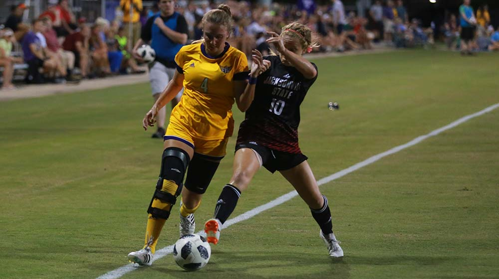 Tech soccer falls 2-0 at Murray State in only match of the week