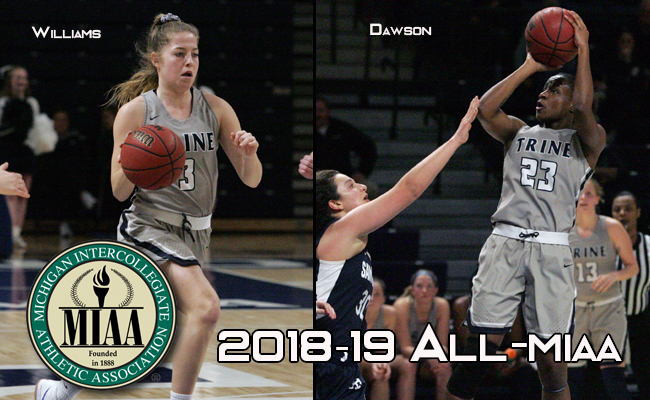 Women's Basketball Has Two Named All-MIAA; Dawson Named MVP