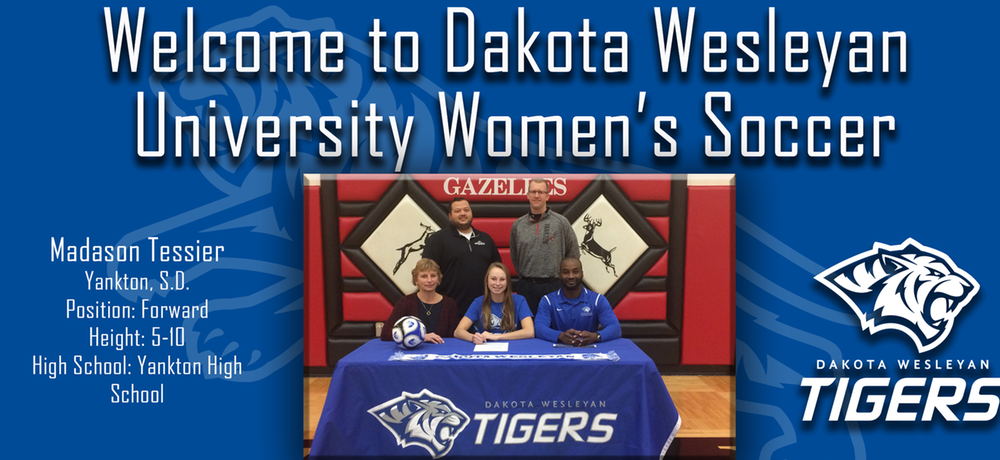 Women's Soccer Inks First Signee with Madason Tessier
