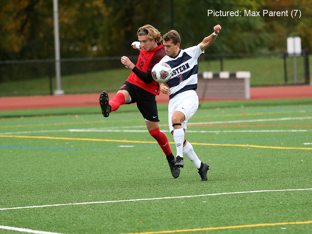 Men's Soccer: In Key Little East Conference Match, Warriors Blitz Keene State, 4-0, to Remain Perfect at Home This Year