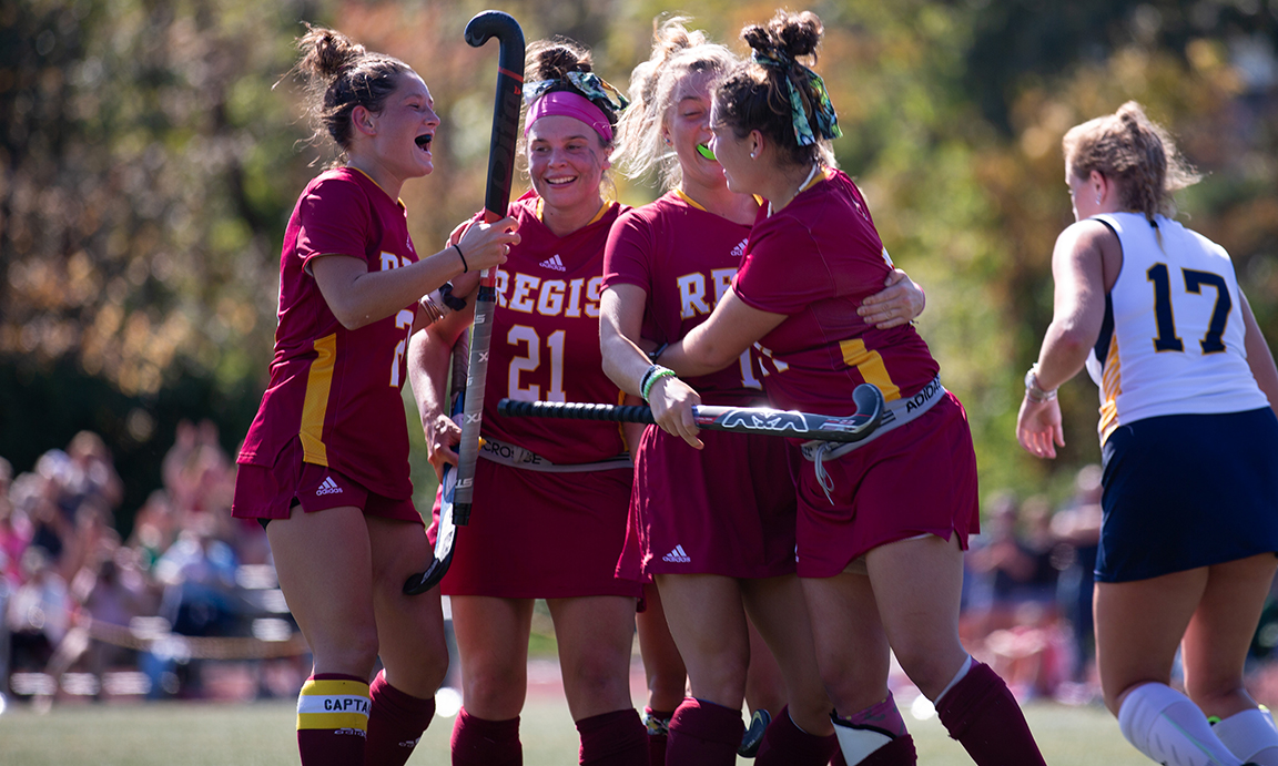 Field Hockey Clinches GNAC Tourney Berth with Road Win