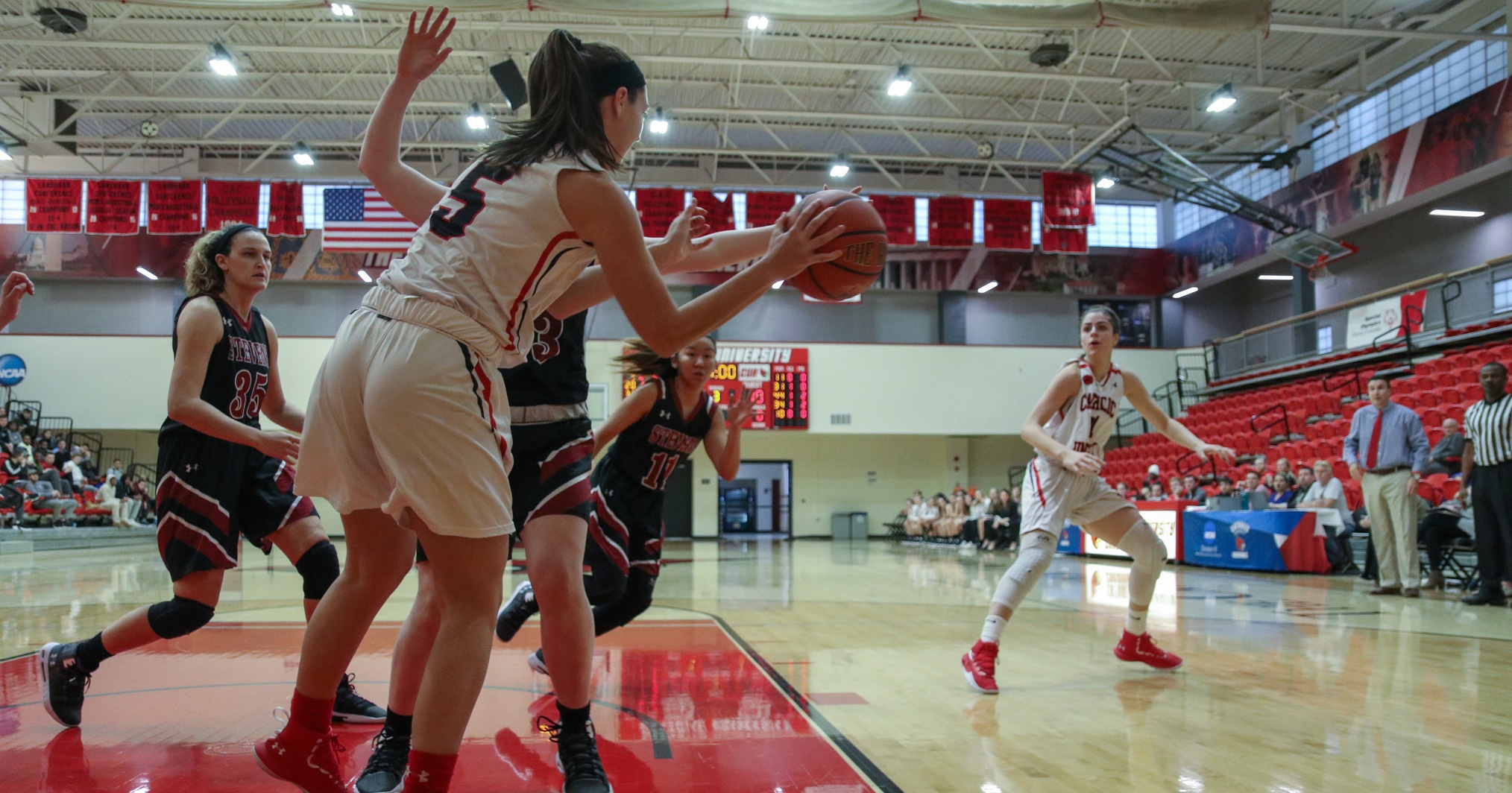 Cardinals Fall to Frostburg, 61-36
