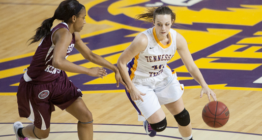 Tech tops Lady Colonels as Heady leads the way; Golden Eagles in first place