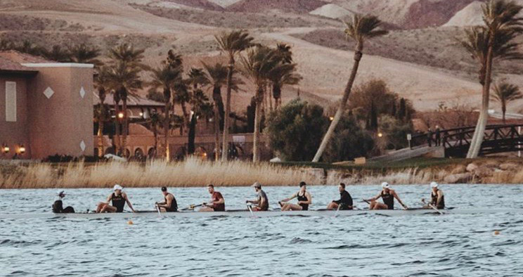 Men's Rowing Concludes Las Vegas Invite